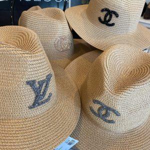 Designer Inspired Straw Beach Hat!