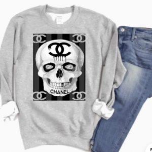 CC inspired Skull Graphic Sweatshirt