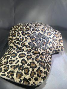 CC Inspired Leopard Print Baseball Hat