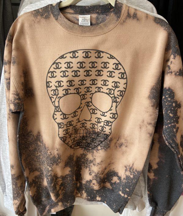 Skull Graphic CC Inspired Sweatshirt