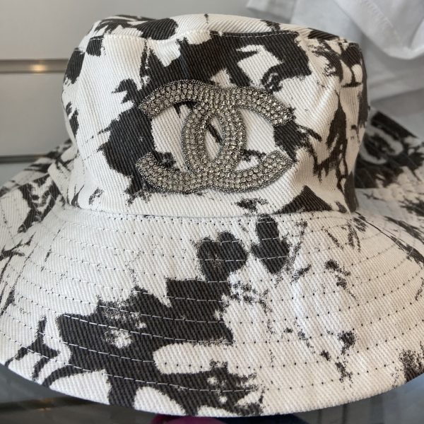 CC Inspired, Black n White Bucket Hat