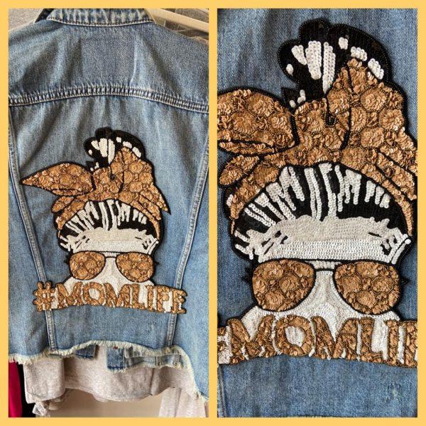 Denim Jacket #Moms Life