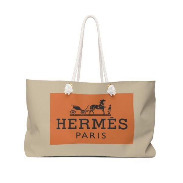 Hermes Inspired Beach Bag