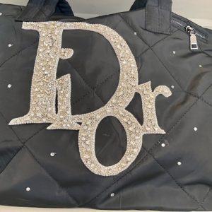 Dior Inspired weekender bag.