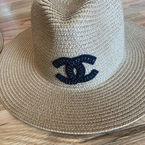 CC Inspired Summer/Beach Hats. Straw hat