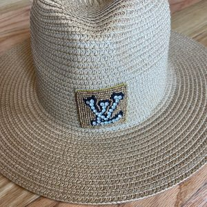 LV Inspired Summer/Beach Hats.