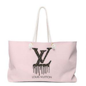 LV Inspired Beach Bag