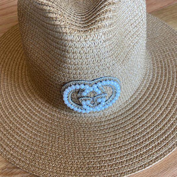 Gucci Inspired Summer/Beach Hats. Straw hat