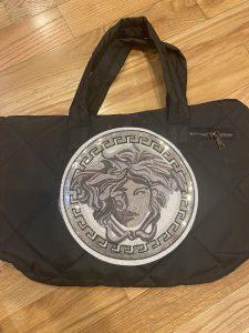 Versace Medusa Inspired Beach Bag