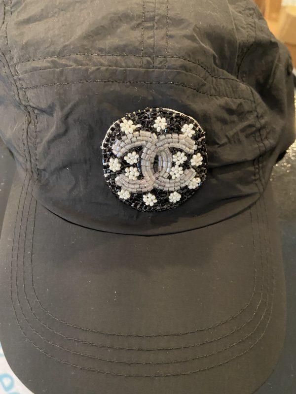CC Inspired Black Nylon Baseball Hat