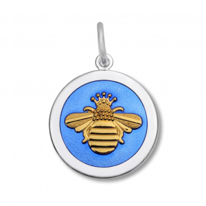 27mm Medium Queen Bee Gold Periwinkle