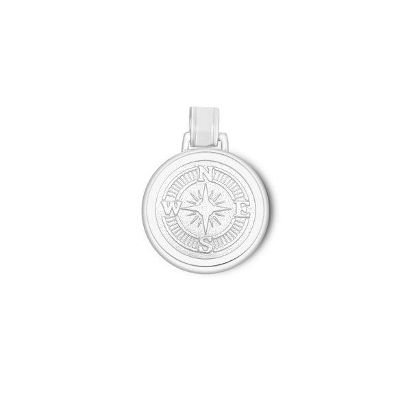 35mm Large Compass Rose Alpine White