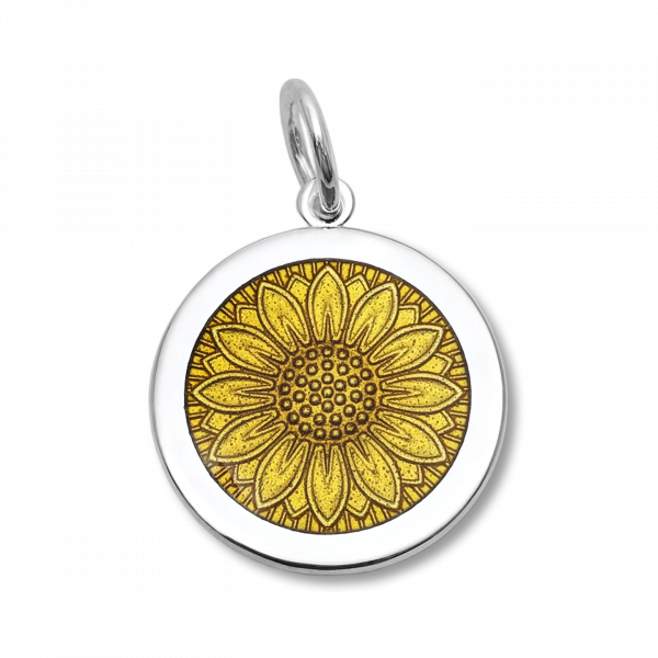 27mm Medium Sunflower Gold